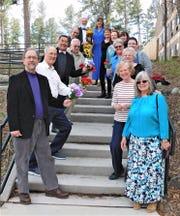 Choir members will sing love songs for spring concert.