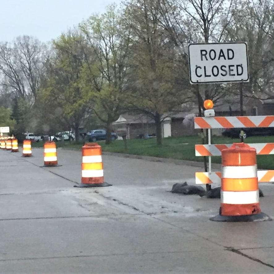Roads millage projects get rolling in Canton Township