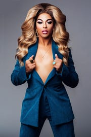 Singer, activist and drag queen Shangela will be appearing at The White Party in Palm Springs. Friday April 26, 2019.