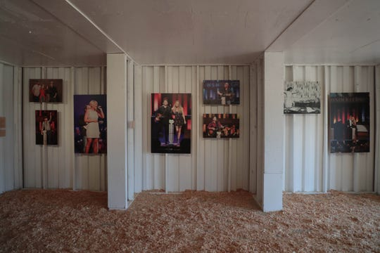 The Opry Gallery sits on the Empire Polo Club at Stagecoach Festival on Friday, April 26, 2019.