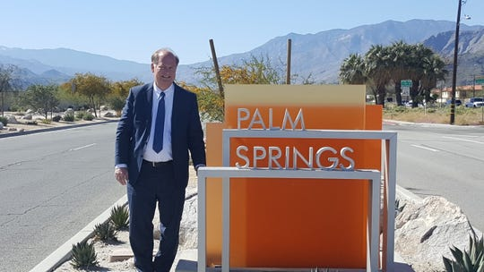Scott Myer is one of four candidates running for a seat on the Palm Springs City Council in District 1.