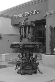 An $18,000 sculpture was stolen from Venus de Fido on Easter morning, according to owner Lindi Biggi.