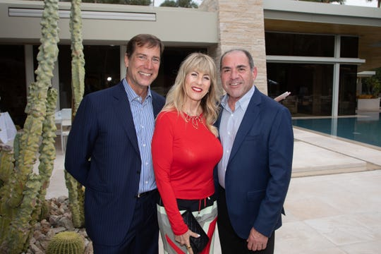 From left: Scott Histed, Vicky Sullivan and Tony Marchese