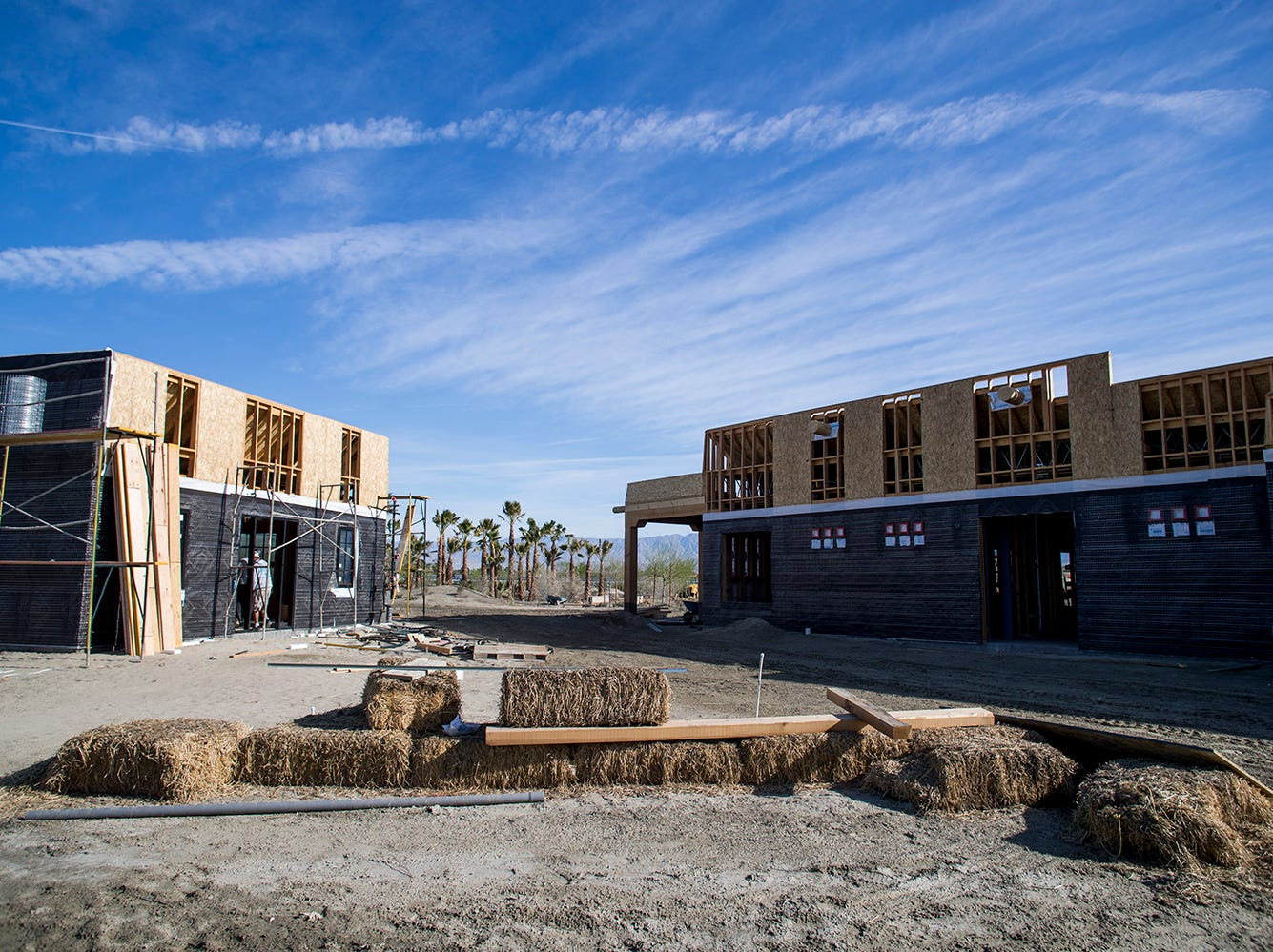 The Augustine Band is months away from completing construction on an  educational facility and farmers market where the public will learn about Native American culture and environmental sustainability.