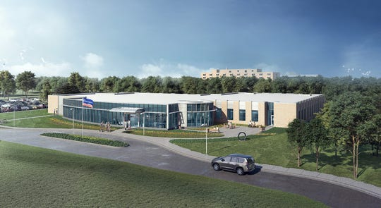 A rendering of the Intrepid Spirit Center that will be built at Eglin Air Force Base.