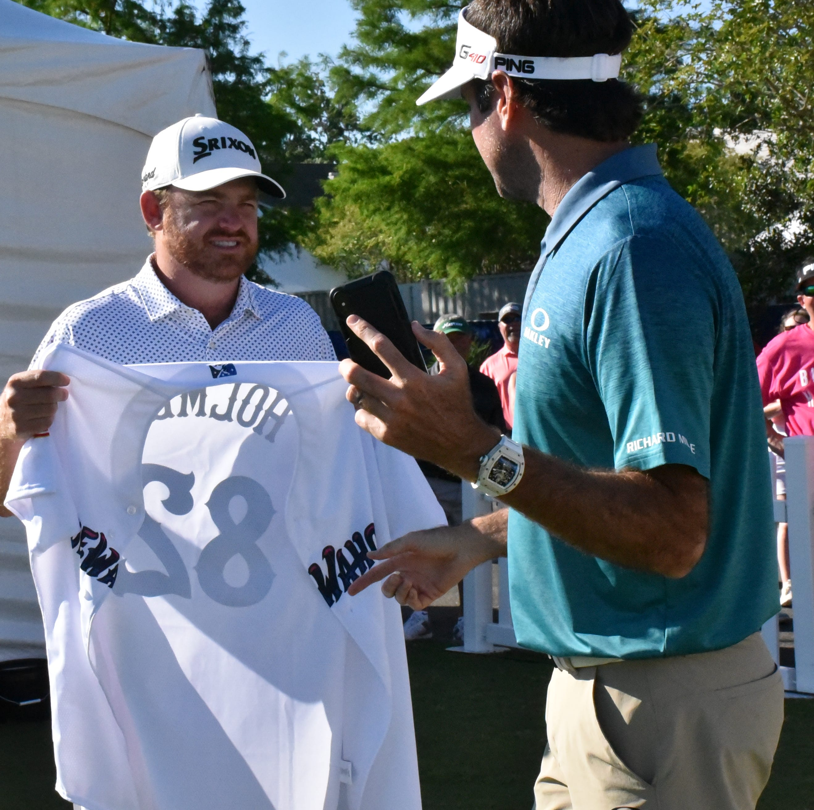 Blue Wahoos fans travel to root for co-owner Bubba Watson at PGA Tour stop