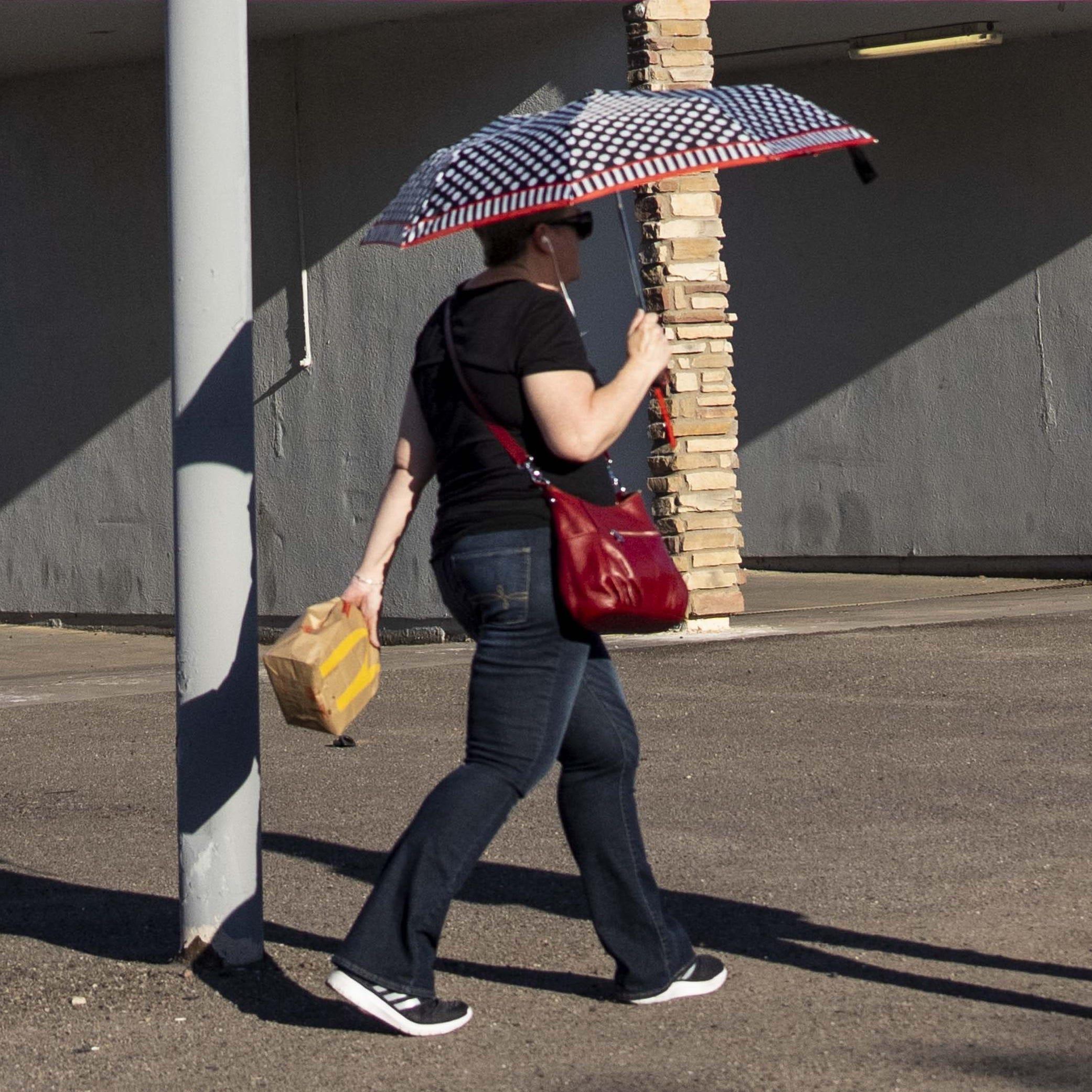Whew! 100 degrees in Phoenix already?
