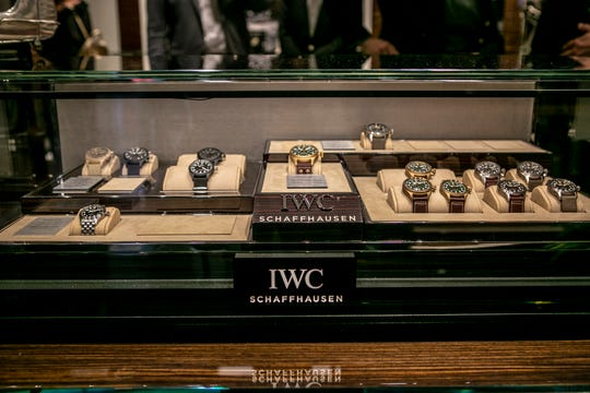 The Spitfire collection debuts in North America during IWC Schaffhausen's launch party at the Scottsdale Fashion Square, Thursday, April 25, 2019.