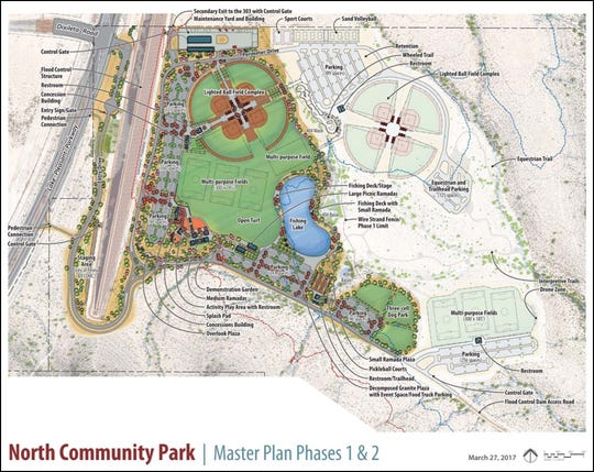 Peoria is breaking ground on its new 120-acre park Tuesday. The project will be in two phase.