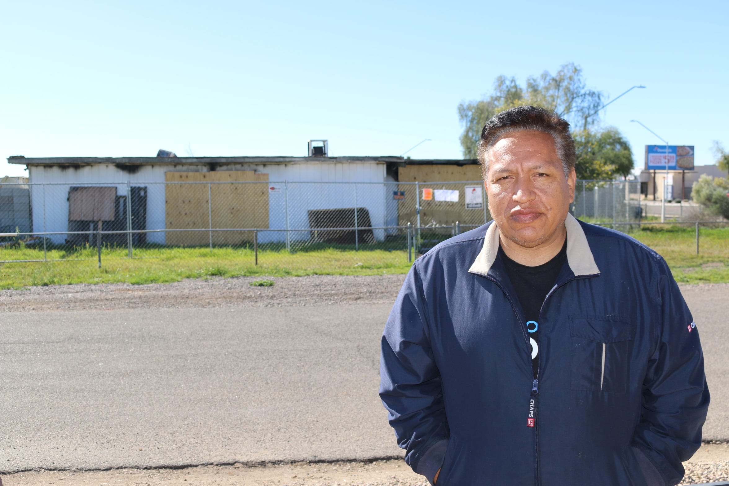Vincent Orozco has watched vagrants come and go from a vacant property on Mary Jane Lane in Glendale for years.