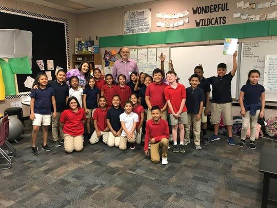 Students in Jennifer Jobs' third-grade class at Guerrero Elementary in Mesa.