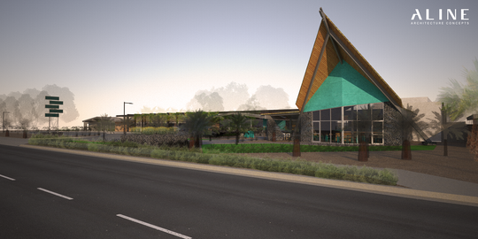 The frame of the old Polynesian Dairy Queen on McDowell Road and 68th Street will be reused at a new retail and restaurant development near Hayden and Osborn roads.