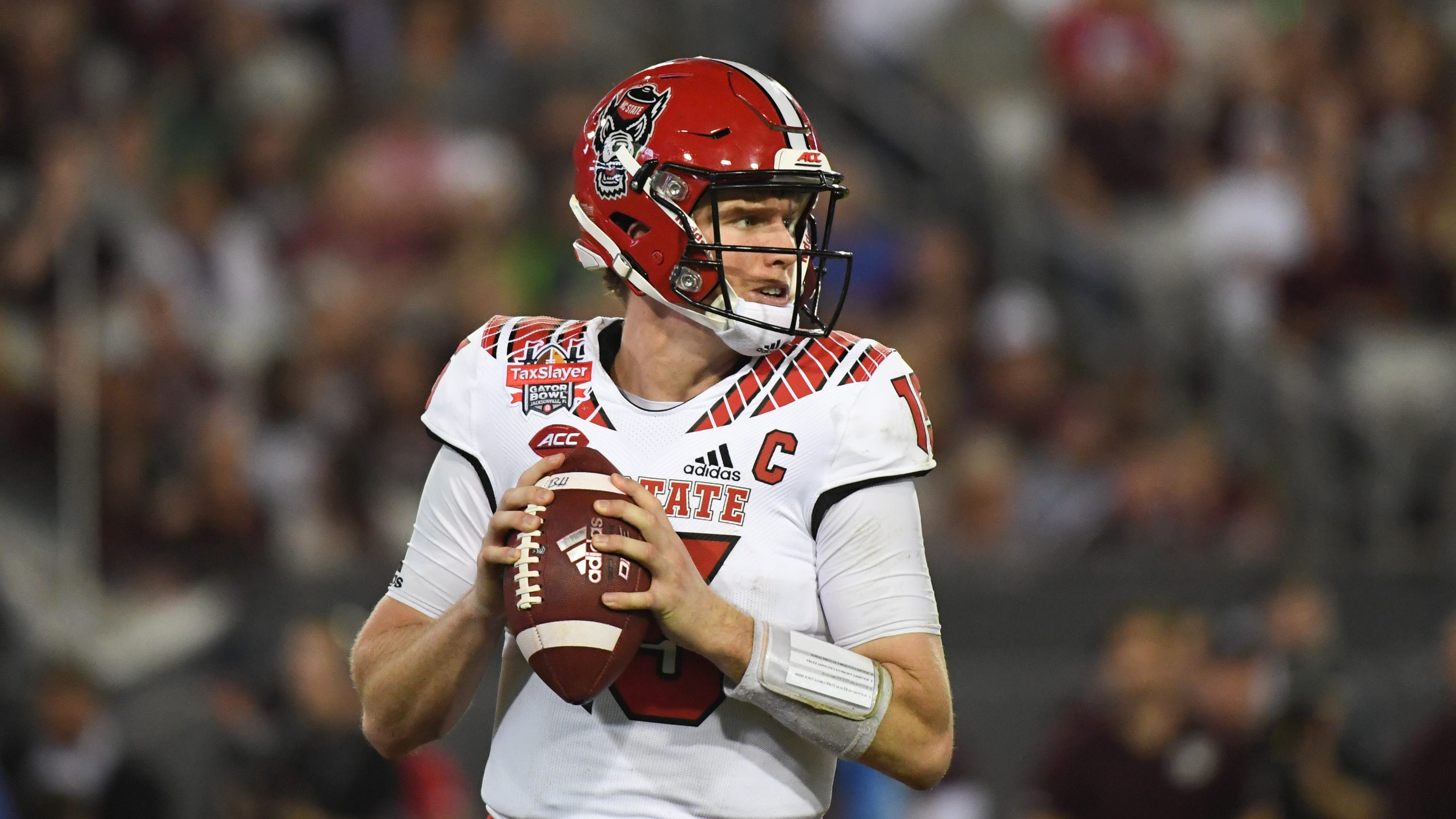 newest 85a96 41ab8 Bengals trade up for QB Ryan Finley