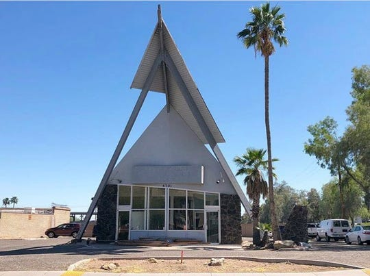 The old Polynesian Dairy Queen near McDowell Road and 68th Street in south Scottsdale was dismantled on Friday, April 26. The frame of the building will be moved to a new retail development near Hayden and Osborn roads.