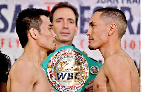 Sor Rungvisai y Francisco 'Gallo' Estrada se enfrentan en pelea de revancha.