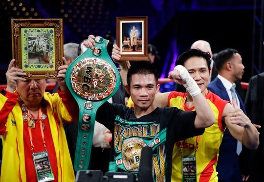 Srisaket Sor Rungvisai, de Tailandia, arriesga hoy su fajín en contra del 'Gallo' Estrada.