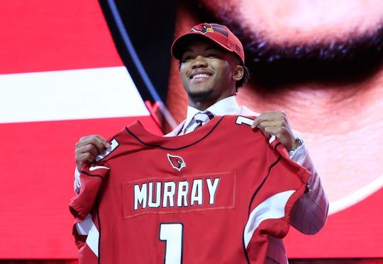 Kyler Murray fue seleccionado por los Arizona Cardinals como el 'pick' global #1