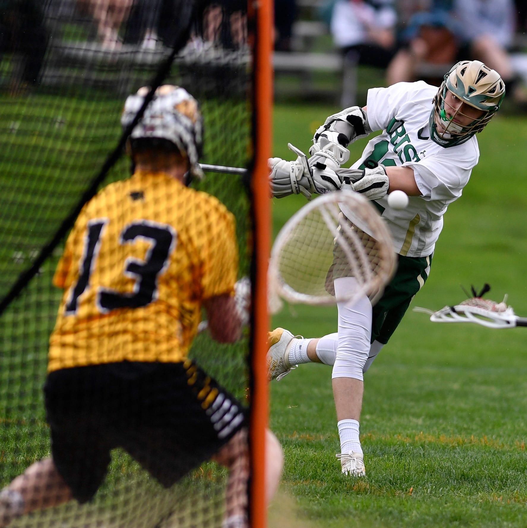 Chandler Hake, Connor Kernan, Ryan Muller earn major York-Adams boys' lacrosse honors