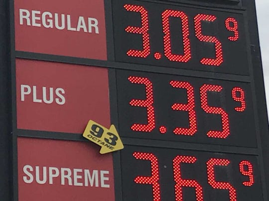 Gas prices are over the $3 mark for regular at some York County stations.