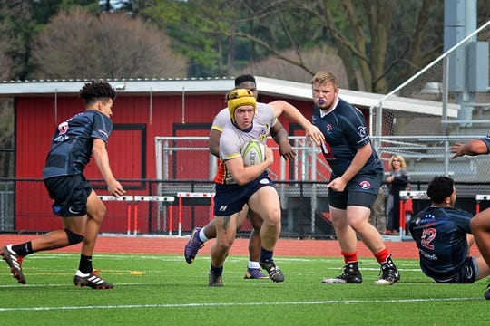 West York senior Ray McGettigan has played for club rugby teams in West Shore and Downingtown throughout high school.
