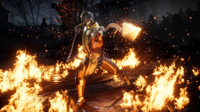 A screenshot from Mortal Kombat 11 for PC, PS4, Switch and Xbox One.
