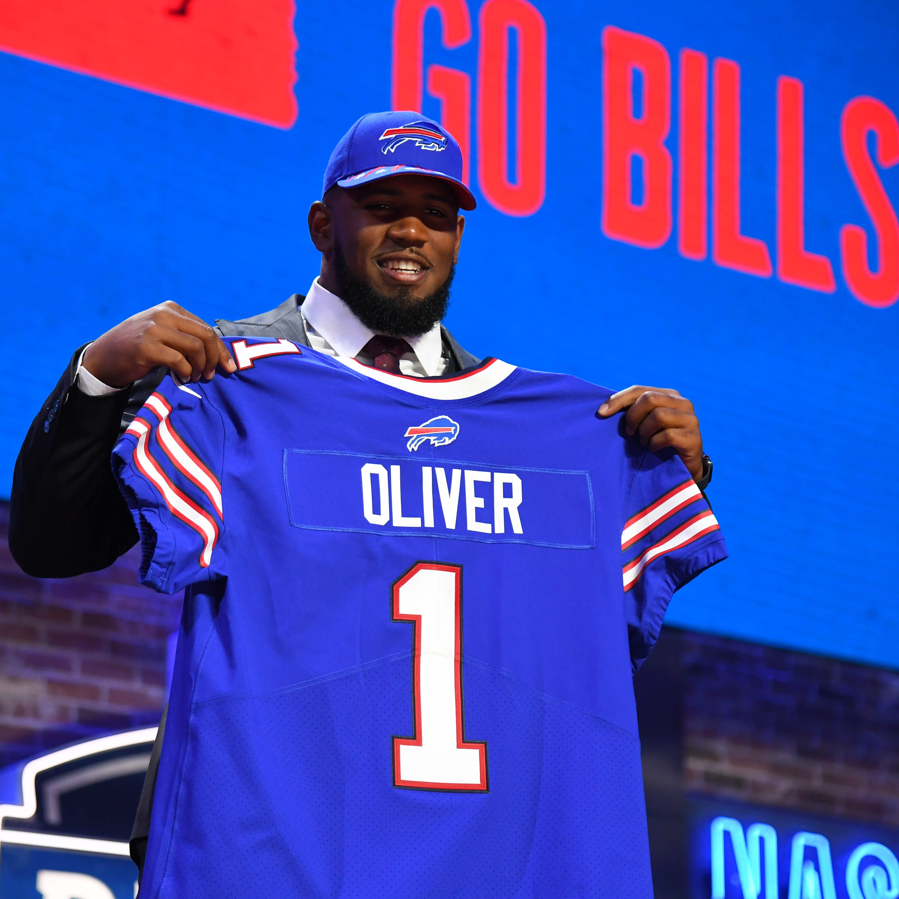 Ed Oliver feels at home and Bills get a gift as he falls to them in first round