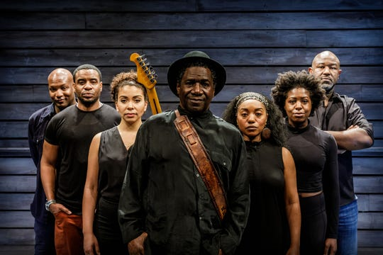 The cast of 'Revival' (from left): Clifton Oliver, Antoine L. Smith, Alexis Sims,  Cleavant Derricks, Badia Farha, AnnEliza Canning-Skinner, Tyrone L. Robinson.
