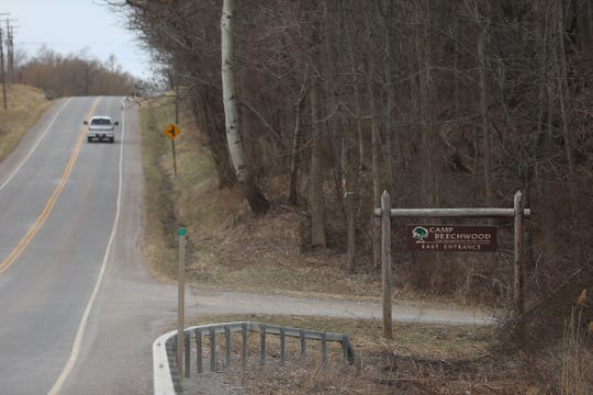 The east part of Beechwood State Park has its own entrance and parking lot.