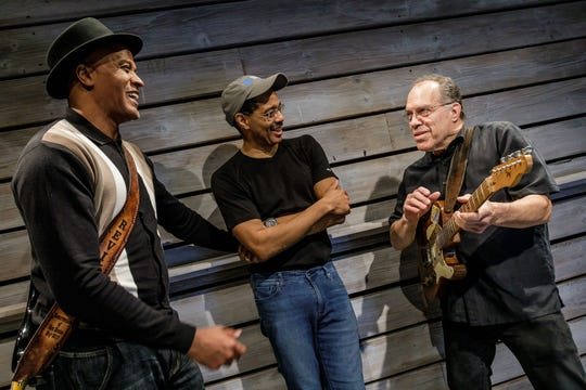 (From left) Writer/director Keith Glover, choreographer Norwood Pennewell and music director Billy Thompson.