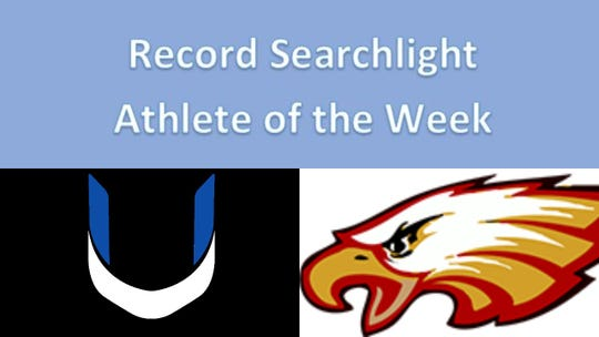 U-Prep and West Valley students were named Male and Female Athletes of the Week on Friday, April 26.