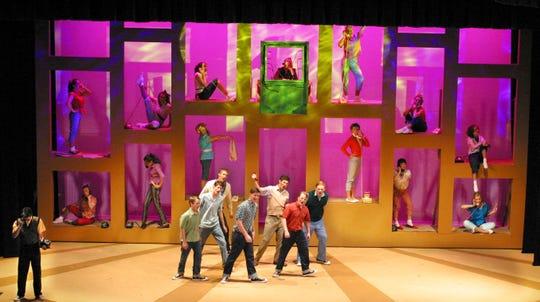 """Shasta High School's 2007 production of """"Bye Bye Birdie."""""""