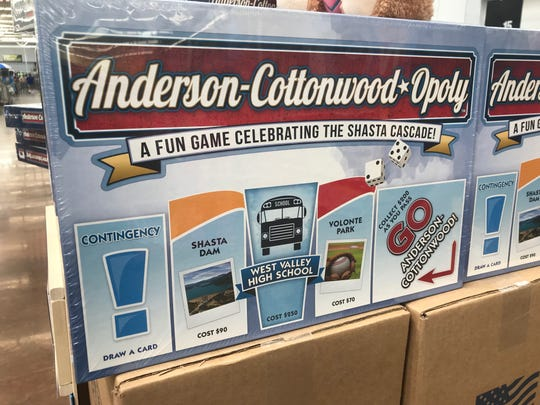 A local version of monopoly arrived this week at the Anderson Walmart.