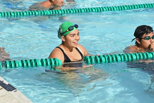 Sophomore Mikaela Arista's re-set the Alisal school record for nearly every event she's entered in.