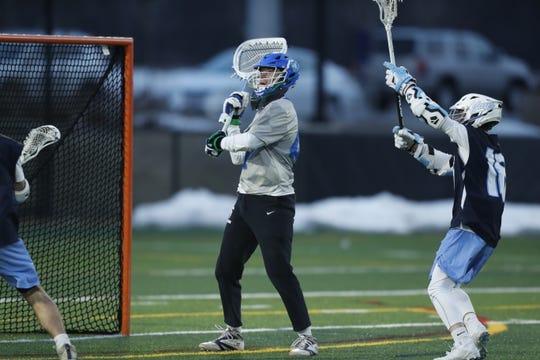 Parkside grad Phil Gianelle is the starting goalie for Aurora University.