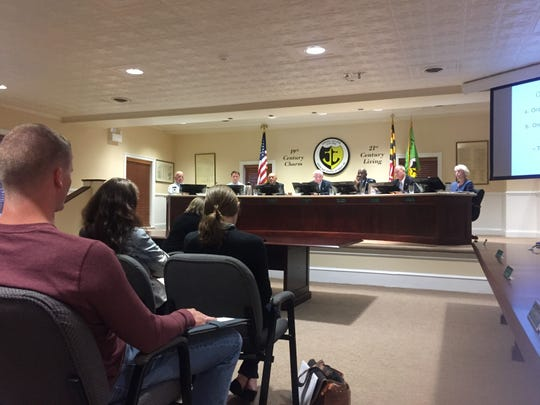 Berlin's mayor and council hear residents out on Monday, April 22, 2019, over the town's proposed tax increase.