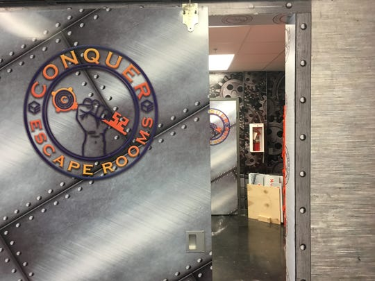 Conquer Escape Rooms in Harrisburg specializes in elaborate set designs and immersive puzzles for group events.