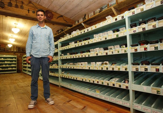 Jere Gettle is shown in a 2013 News-Leader photo at Baker Creek Heirloom Seeds in Mansfield. He started the company in 1997.