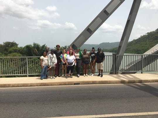 TCC students visited national parks, museums and villages in Ghana.