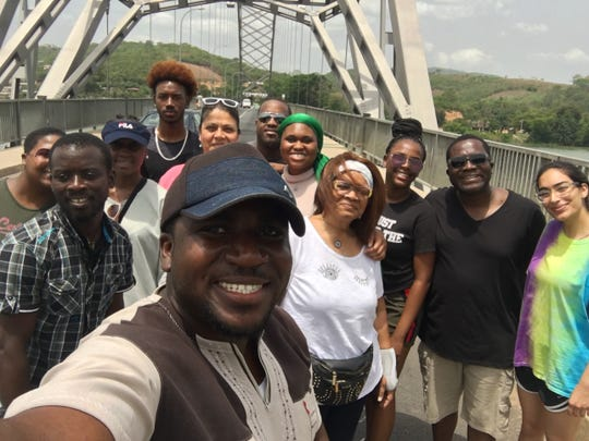 A group of TCC students took a trip Ghana on spring break and visited the Canopy Walkway over seven bridges.