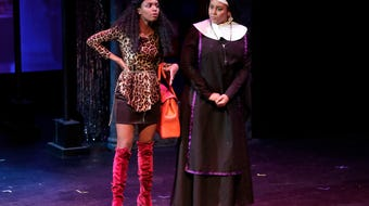 """Get to know Alexis Johnson who plays Deloris Van Cartier in Theatre Tallahassee's production of """"Sister Act."""""""