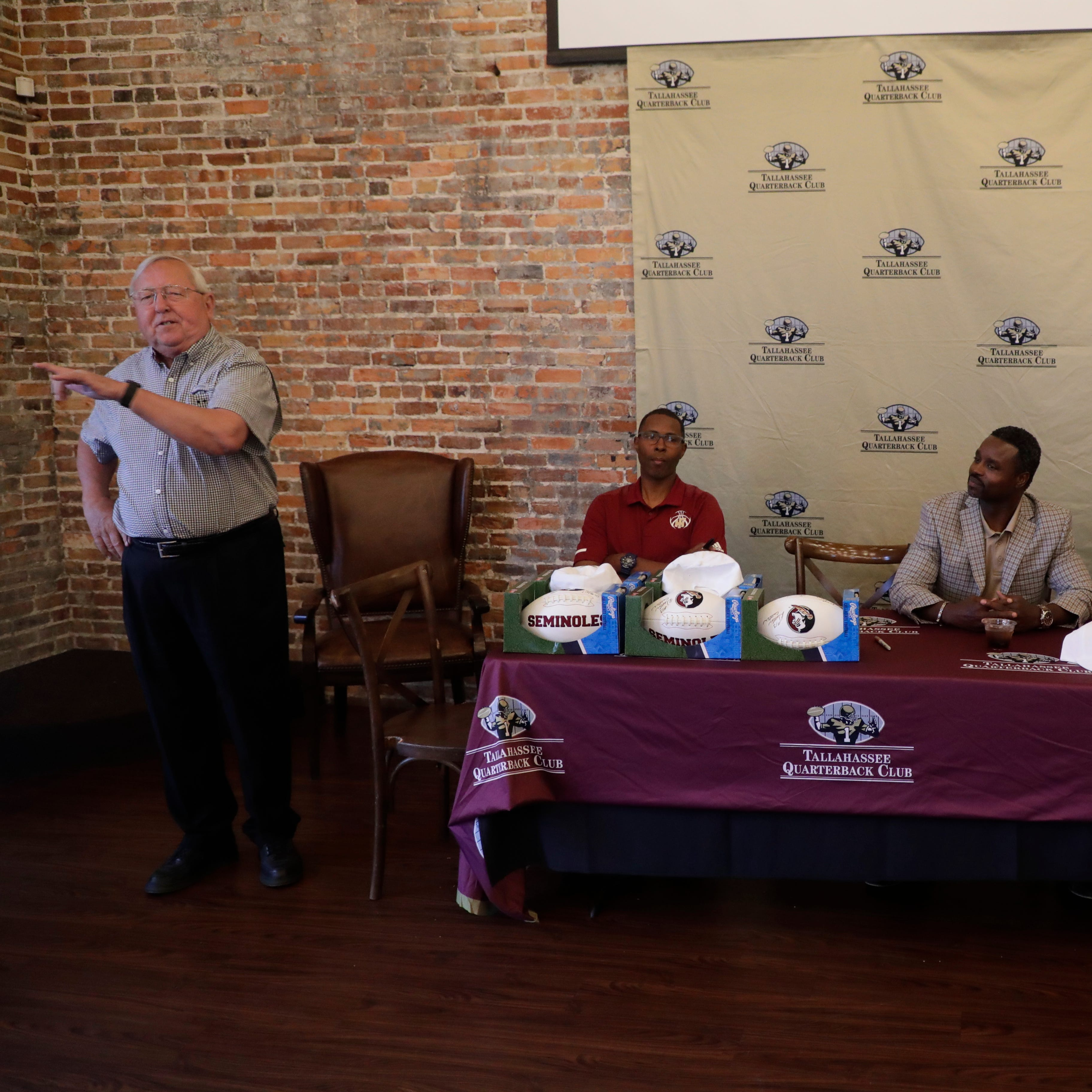 Florida State football heroes gather at Tallahassee Quarterback Club event