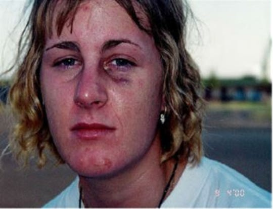 Harmony Allen was raped in 2000 while she was stationed in the Air Force. Her attacker, Richard Collins, who was a Sergeant was found guilty of rape and sentenced to 16 years in prison. This month he was freed based on a ruling in U.S. v. Mangahas