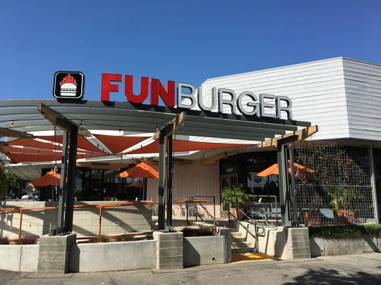 Fun Burger opened this month at the former Hook Burger location in Simi Valley.