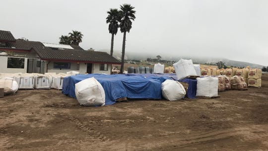 The Santa Barbara County Sheriff's Office said this location outside Lompoc was being prepared for outdoor cannabis growing.