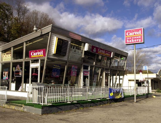 Carvel's original location on Central Avenue in Hartsdale
