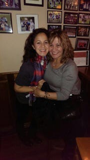 Santa Nikkels with her daughter Carmen Yellen