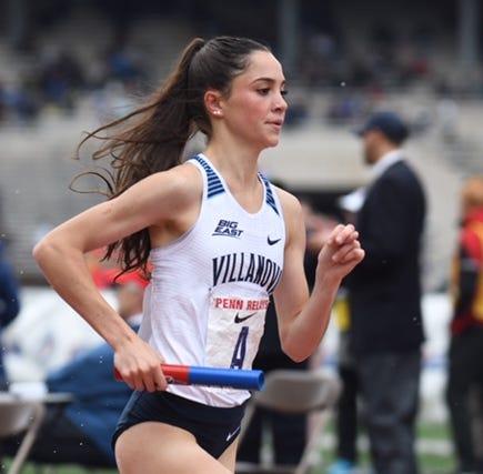 Padua graduate Lydia Olivere on the fast track as Villanova freshman