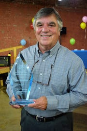 The Josh Kimbrough Distinguished Alumnus award was presented to Jim Brennan, who has served on the Boys & Girls Clubs Alumni & Friends Board of Directors for  13 years and is a past president.