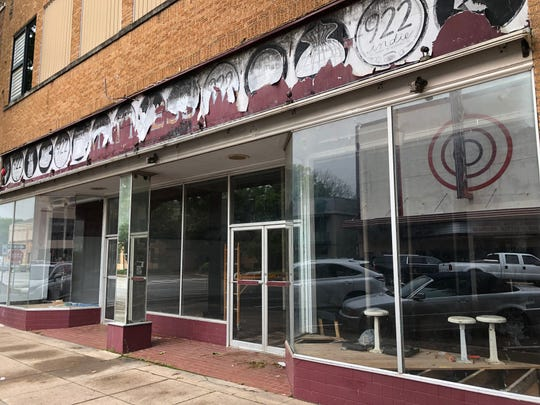 A property at 922 Indiana is being renovated for use as retail space. Funding for the project was approved by 4B for a fire suppression system.