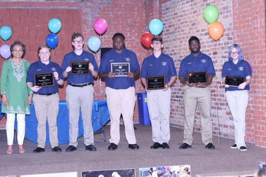 The Boys & Girls Clubs of Wichita Falls recognized the Youth of the Year, presented to Samuel Walker, Northeast Branch; Jimmie Reynolds, Northwest Branch; Blake Larsen, Southeast Branch; Damion Fisher, Southwest Branch; Johnny Taylor, Rosewood Branch and Alexis Johnson, Central Branch.